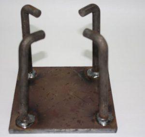 weld plates bottom view